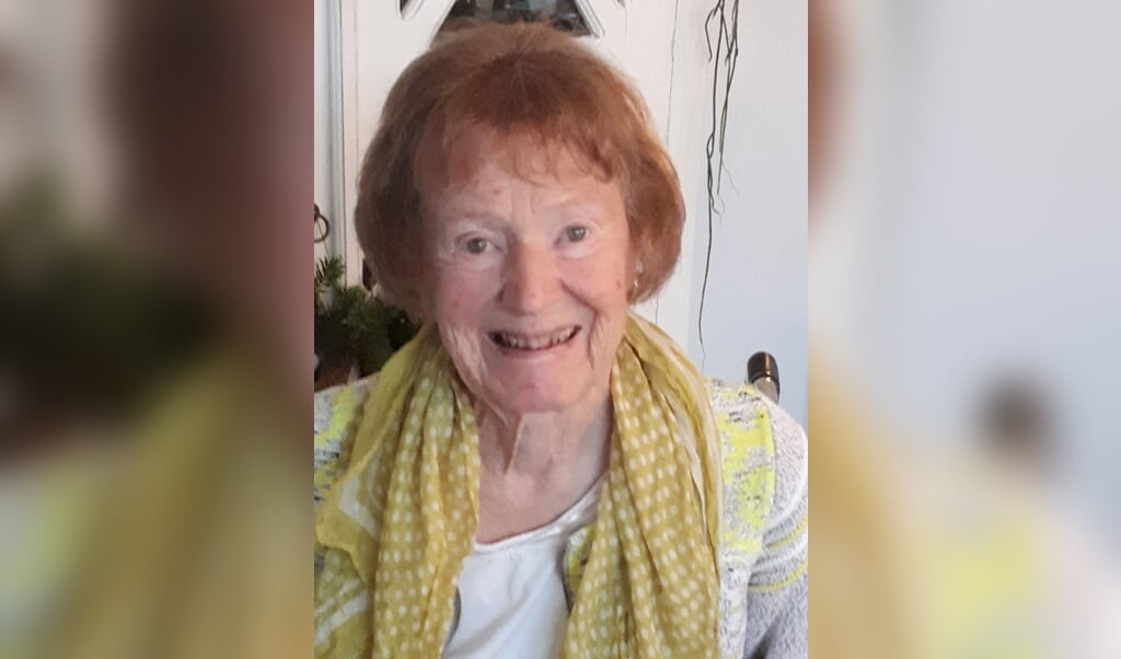 Margit Midtgaard blev 83 år.  (Privatfoto)