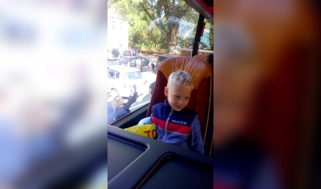 Morten på syv år.  ( privat)
