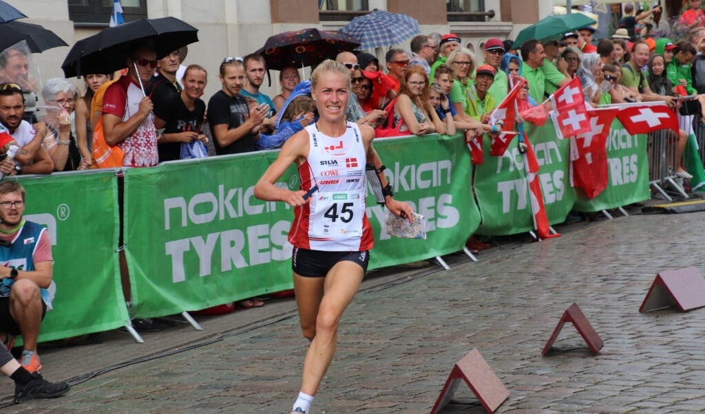 Maja Alm vender tilbage til orienteringsløb og sætter OL-drømmen på pause.  ( Helge Lang Pedersen/DOF)