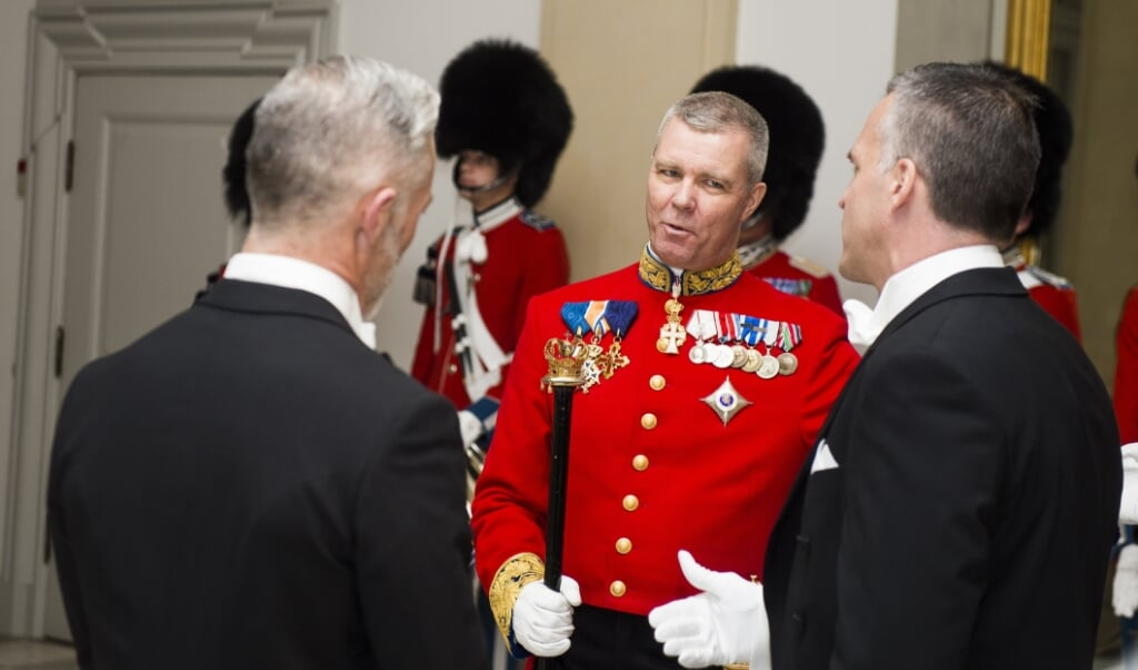 Kim Kristensen har været hos kongehuset siden 2012 og bliver fra april hofmarskal - en slags administrerende direktør for kongehuset. Arkivfoto:  (Ólafur Steinar Gestsson, Ritzau Scanpix)