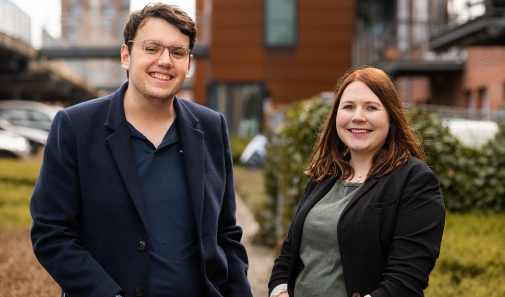 Annabell Pescher und Leon Bossen  (Arkivfoto)