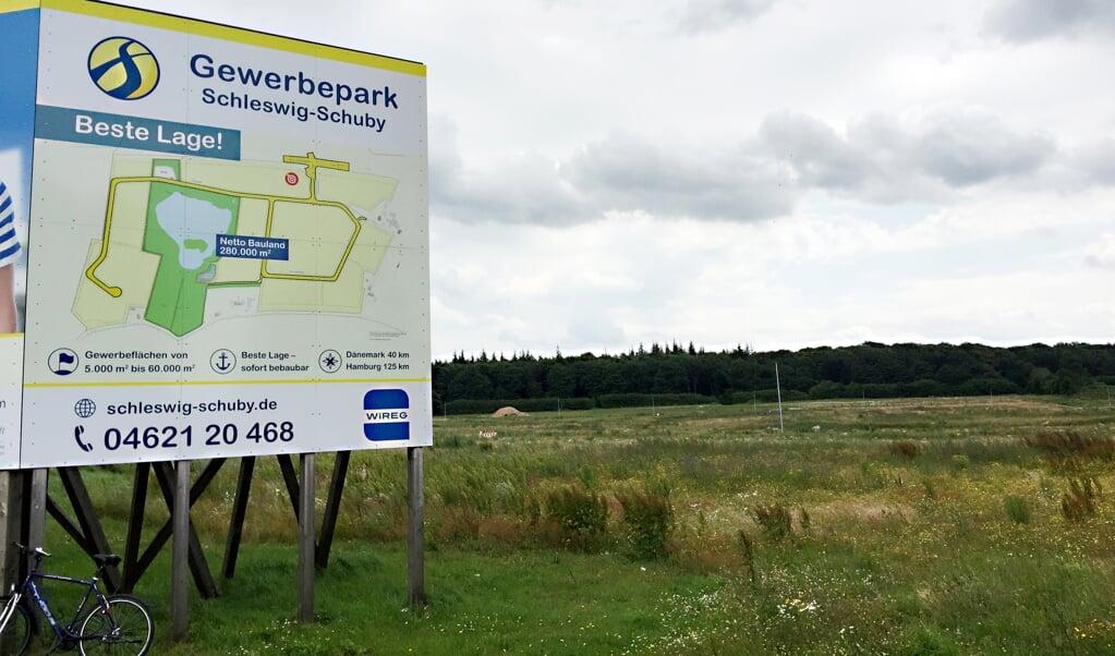 Die Flensburger Brauerei will im Interkommunalen Gewerbegebiet (IKG) Schleswig-Schuby ein Logistikzentrum bauen. Archivfoto:  (Volker Metzger)