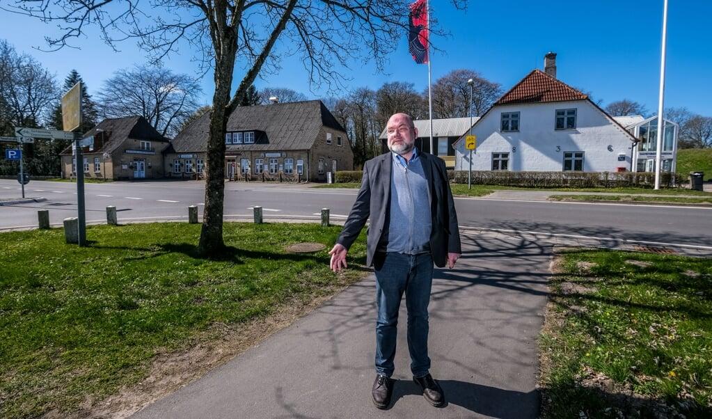 Både værtshuset »Rothenburg« og Danevirke museum skal rives ned i forår 2022 for at giver plads til den nye verdensarv-museet. Sydslesvigsk Forening (SSF) får stor opbakning fra kommune Danevirke.  (Sebastian Iwersen)
