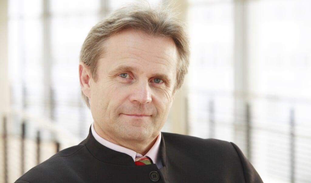 Heiner Dunckel var i mange år professor og organisationspsykolog på Europa-Universitetet i Flensborg, inden han skiftede karriere og blev valgt som medlem af landdagen.   (Arkivfoto)