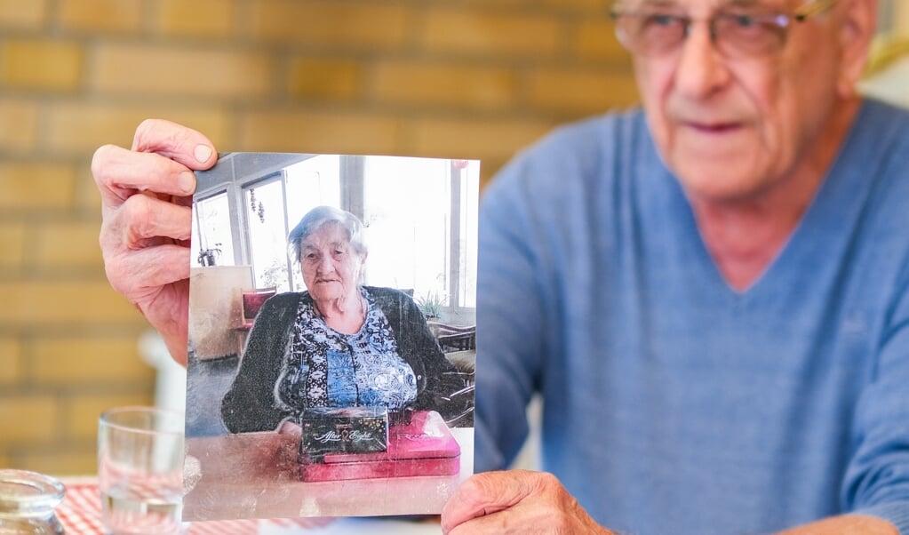 Det er i år 75 år siden, Walter Schenk første gang var feriebarn hos Anne Thuesen i Smidstrup. Kontakten er stadig tæt.  ( Sven Geißler)