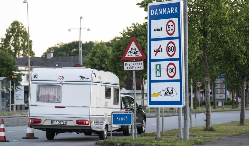 Folketingets partier har indledt forhandlinger om at lempe indrejserestriktionerne ved grænsen.  ( Claus Fisker/Ritzau)
