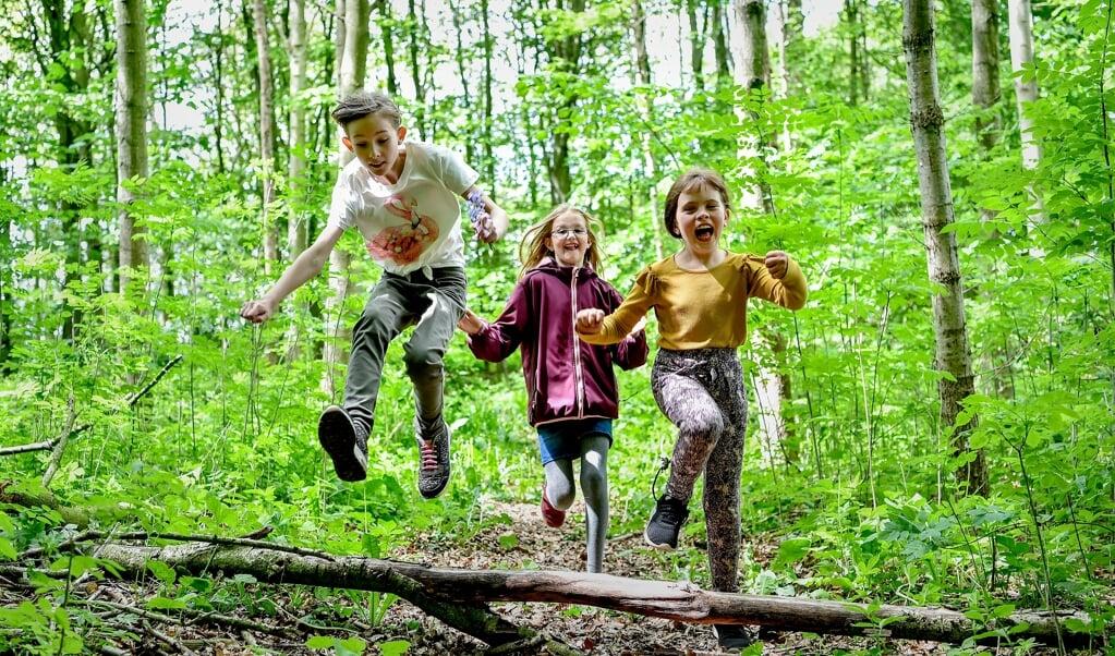 Så sjovt kan udendørs undervisning se ud. Hvad synes I?  ( Timo Battefeld)