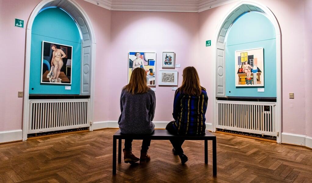 I mange år arbejdede Franciska Clausen i Aabenraa isoleret fra det danske kunstliv med udførelsen af portrætbestillinger som brødarbejde.   (  Palle Skov)