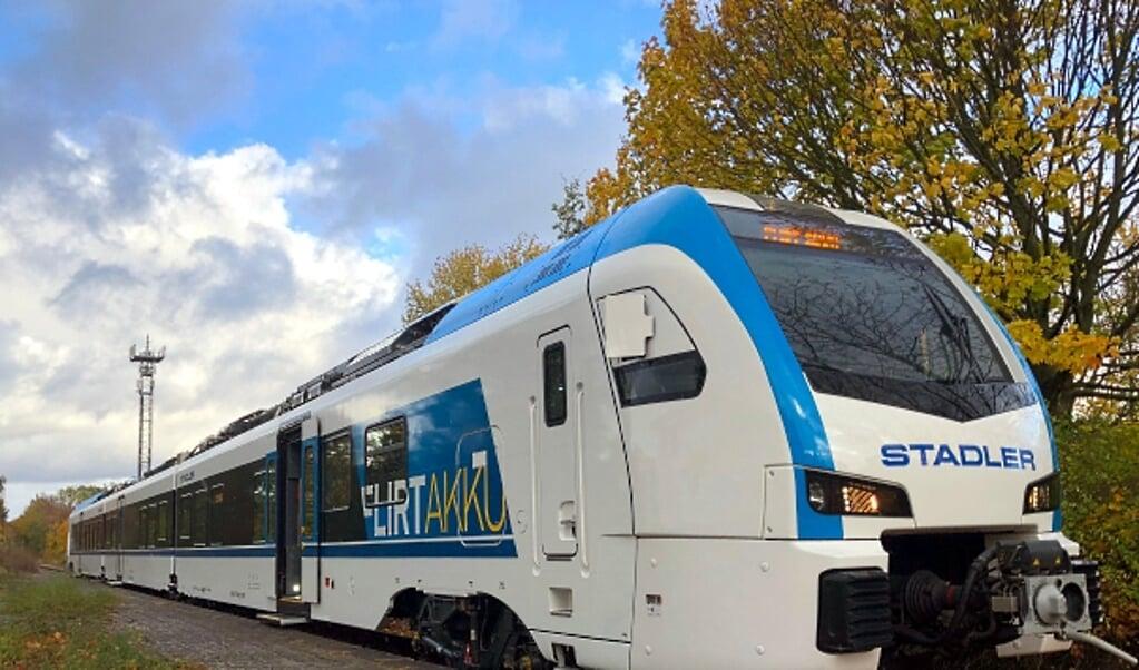 Die Möglichkeit der Aktivierung der Bahnstrecke Flensburg und Nibül wird in einem Dialogforum am 6. Mai diskutiert.  ( Stadler Rail AG)