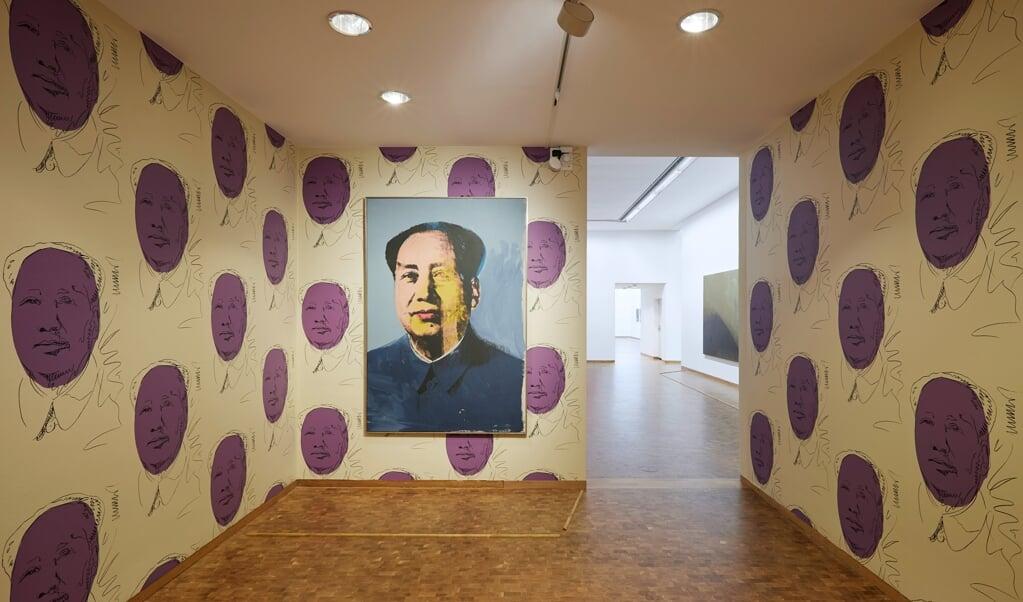 Installation fra Andy Warhol-udstillingen i Museum Ludwig i Köln. © 2021 The Andy Warhol Foundation for the Visual Arts, Inc. Licensed by Artists Rights Society (ARS), New York    (Rheinisches Bildarchiv Köln/Marleen Scholten)