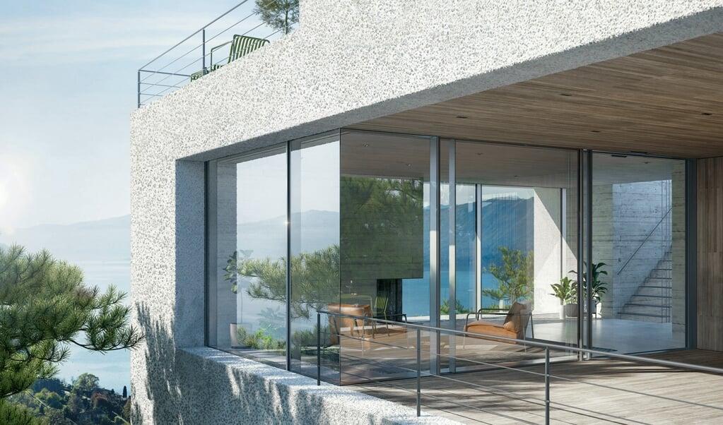 Großformatige Fenster mit filigraner Optik liegen im Trend.    (Schüco International KG.)