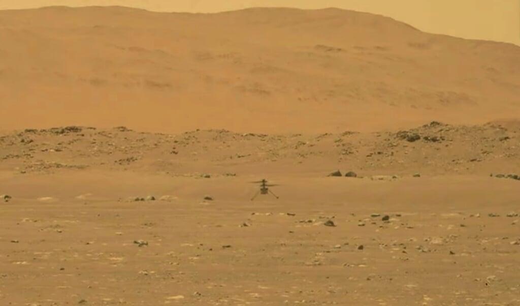 Det er nu lykkedes at producere ilt på Mars - ganske vist kun i små mængder, men det giver store forhåbninger til kommende ekspeditioner. Arkivfoto:  (NASA, AP, dpa)