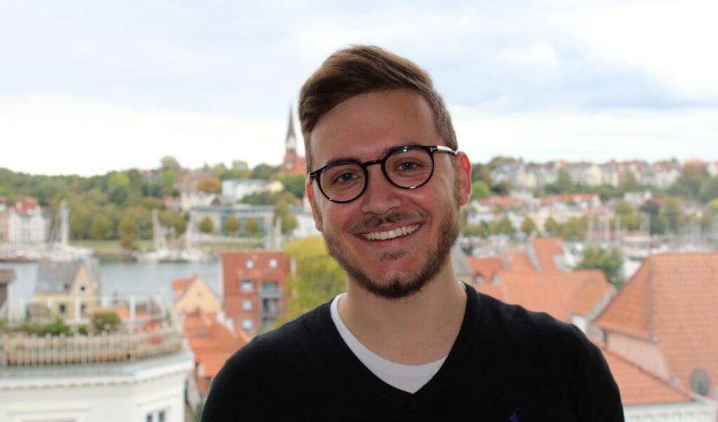 20-årige Mats Rosenbaum overtager hvervet som sekretær for SSWs byrådsgruppe i Flensborg.  ( SSW)
