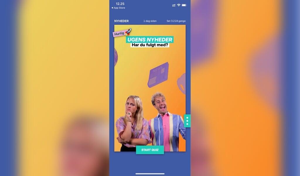 Ultra Nyt+ er en nyhedsapp fra DR, der gør de unge skarp på, hvad der sker i verden og hvorfor. Quiz'er og rappe spørgsmål og aktualitet højner oplevelsen, siger vores tre juniorreportere.  ( mobilfoto)