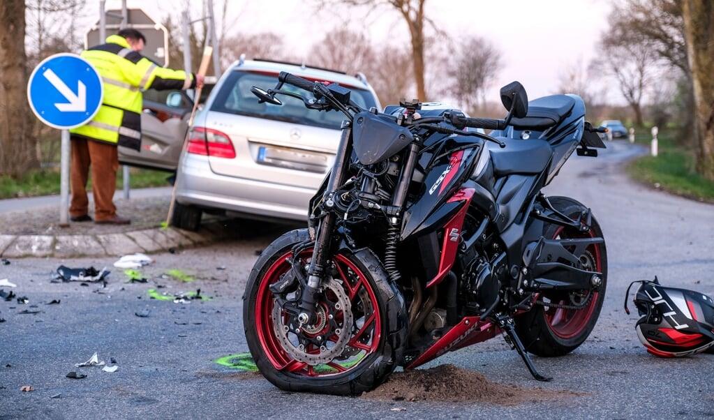 Uheldet skyldtes formentlig, at en bilist overså sin vigepligt.   (Sebastian Iwersen)