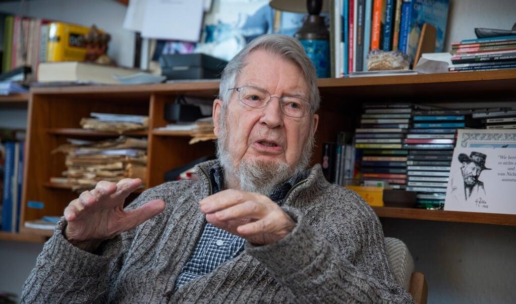 Mandag den 12. april fylder den rejse- og vandreglade tidligere lektor Torben Kvist 90 år.  ( Tim Riediger)