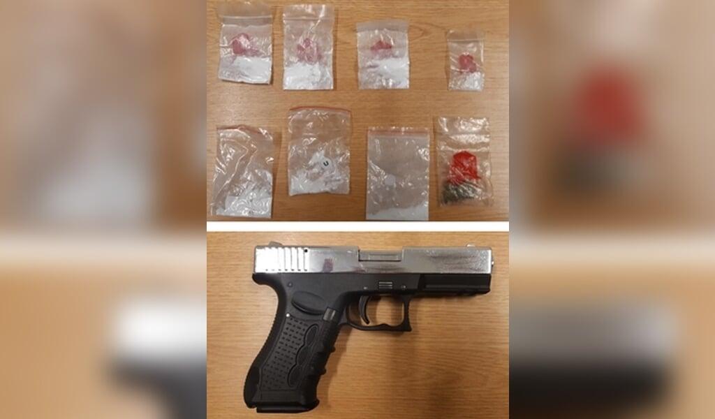 Pistolen var særdeles vellignende, men kunne dog kun affyre løse patroner.  (Bundespolizei-)