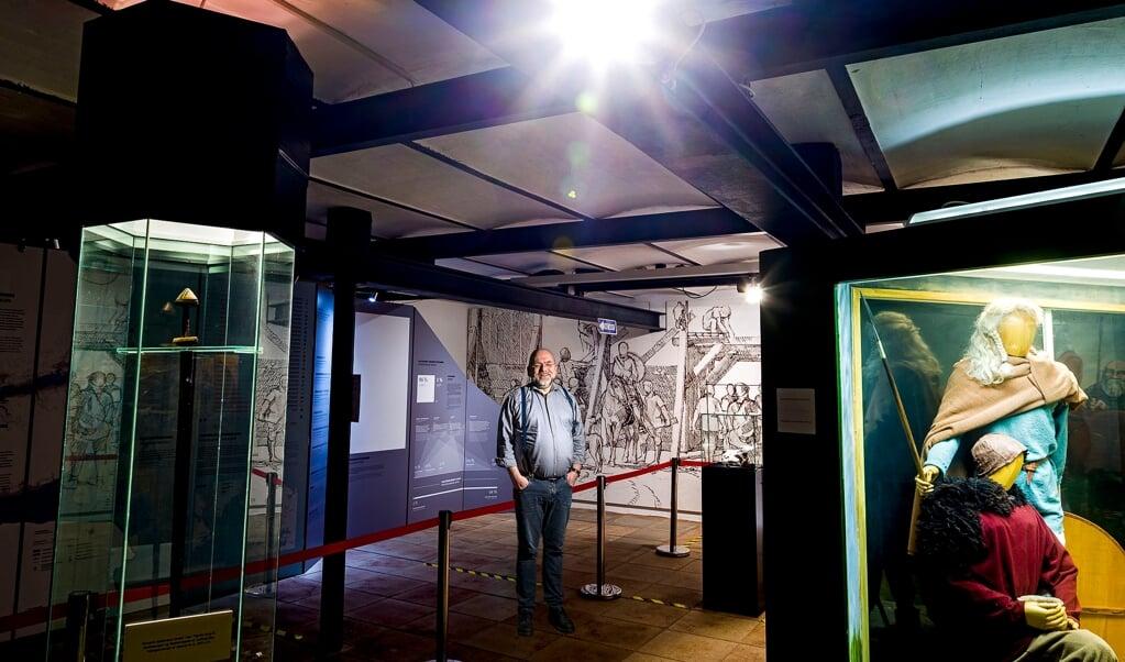 - Jeg har lært, at nogle ting ikke er, som jeg troede, de skulle være, siger museumsleder Lars Erik Bethge i et tilbageblik på sit første år med corona.  (Lars Salomonsen)