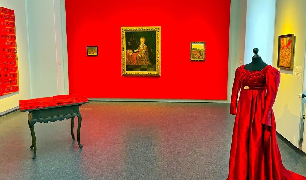 Rød er kærlighedens og lidenskabens farve.   ( Hans Christian Davidsen)