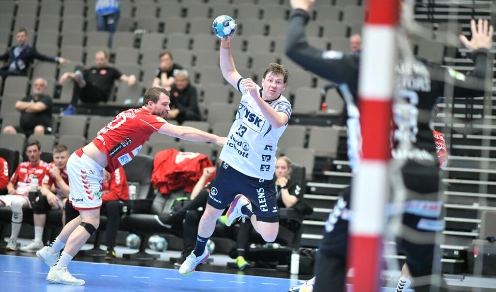 Auf die dynamischen Aktionen von Gøran Søgard wird die norwegische Nationalmannschaft bei Olympia verzichten müssen.  (Archivfoto: Tim Riediger)