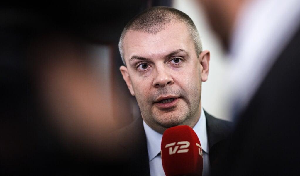 Bjarne Corydon, der også er administrerende direktør, undskylder sagen.  (Sophia Juliane Lydolph/Ritzau Scanpix)