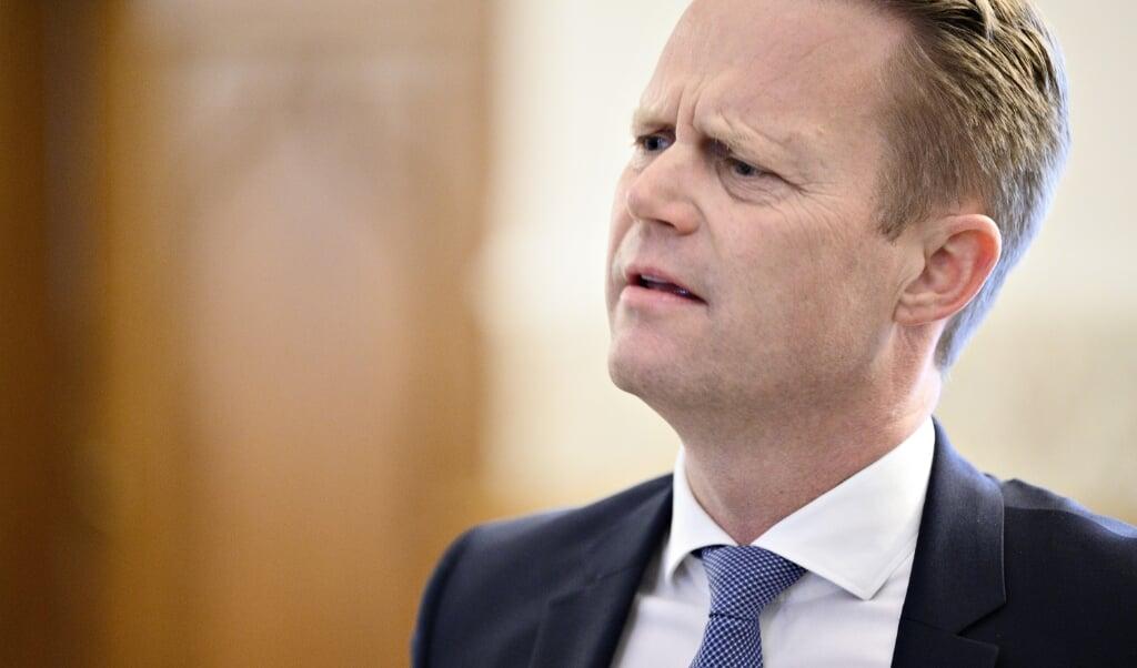 Udenrigsminister Jeppe Kofod (S) vil ikke garantere, at børn med dansk tilknytning evakueres fra syriske fangelejre. (Arkivfoto)  (Philip Davali/Ritzau Scanpix)