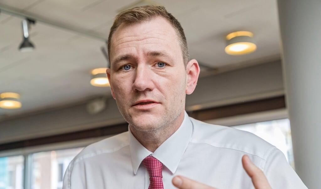 Niels Flemming Hansen.  (Lars Salomonsen/BorderPress.dk)