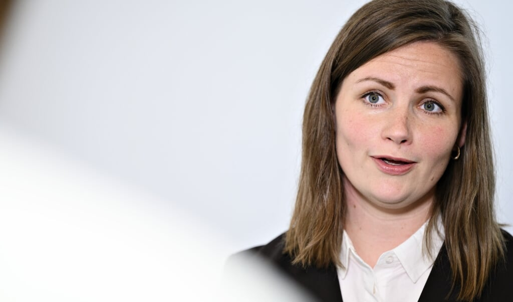 Mai Villadsen (EL) truer med folketingsvalg, hvis den danske regering laver aftale med de borgerlige. (Arkivfoto)  (Philip Davali/Ritzau Scanpix)