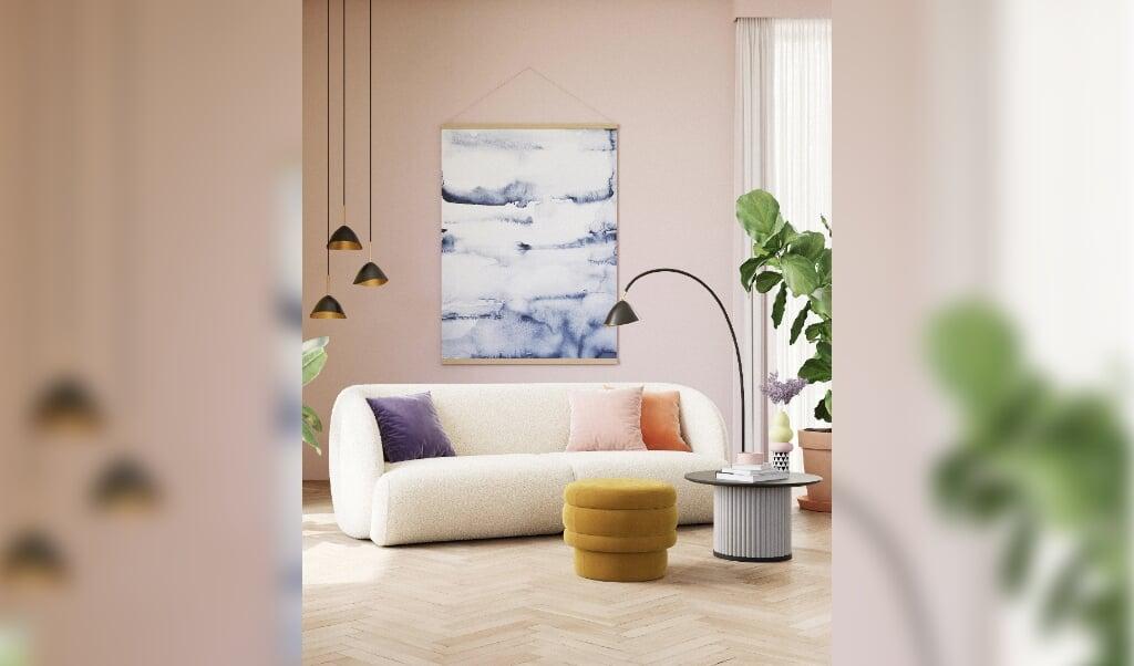 Sofaen hedder Paula, den har netop fået en Red Dot og koster 6999 danske kroner, cirka 940 euro.  ( Safacompany)