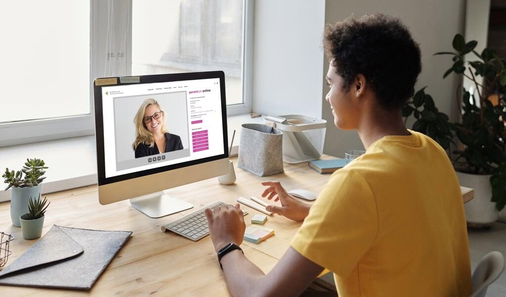 Kontakten mellem virksomhederne og den unge skabes i år online. Den næste seance foregår den 7. juni. Husk tilmelding.  ( IfT)