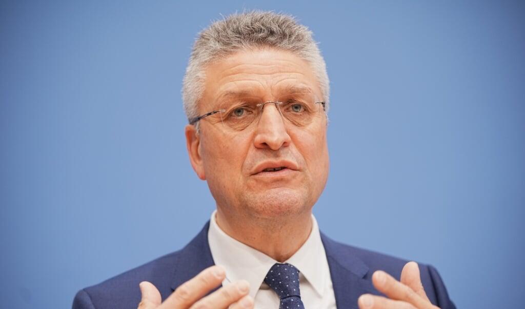 Robert Koch Instituttets chef, Lothar Wieler, advarer om, at nye varianter udgør en trussel mod den tyske succes med at bekæmpe coronaepidmien.    (Michael Kappeler/dpa)