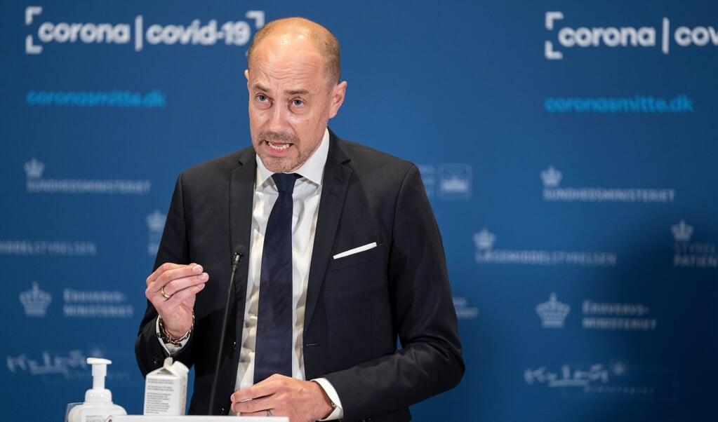 På et samråd understregede Danmarks sundhedsminister Magnus Heunicke, at Lægemiddelstyrelsen havde begået en fejl.  ( Emil Helms/Ritzau Scanpix)