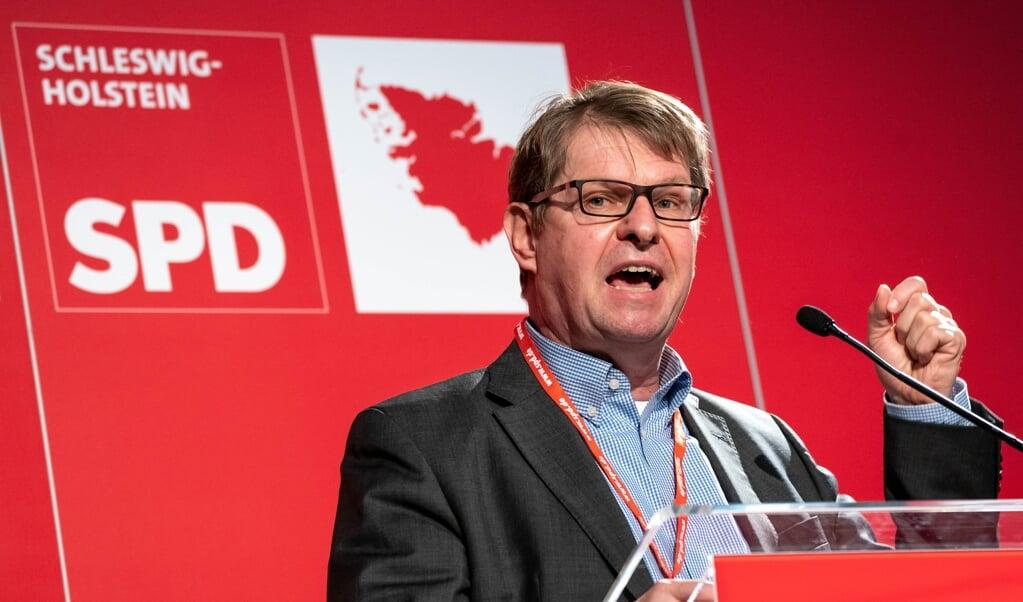 Ralf Stegner (SPD), Kandidat seiner Partei in Schleswig-Holstein für die Bundestagswahl auf Listenplatz 3, wird in September den Kieler Landtag verlassen.    (Axel Heimken, dpa)
