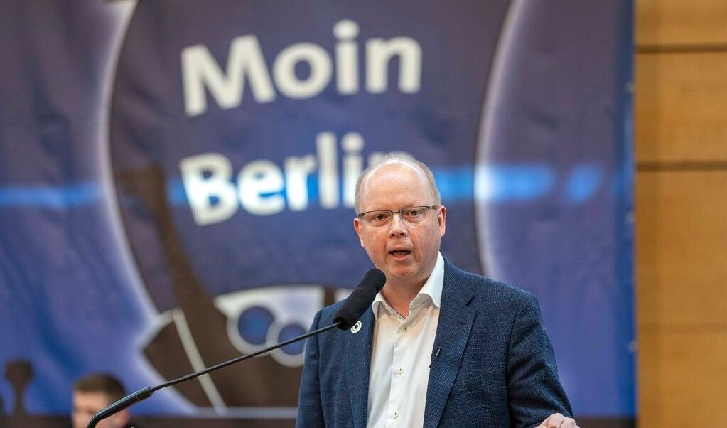 Stefan Seidler er kåret som SSWs spidskandidat til forbundsdagsvalget. Nu begynder den egentlige valgkamp.    (Lars Salomonsen)