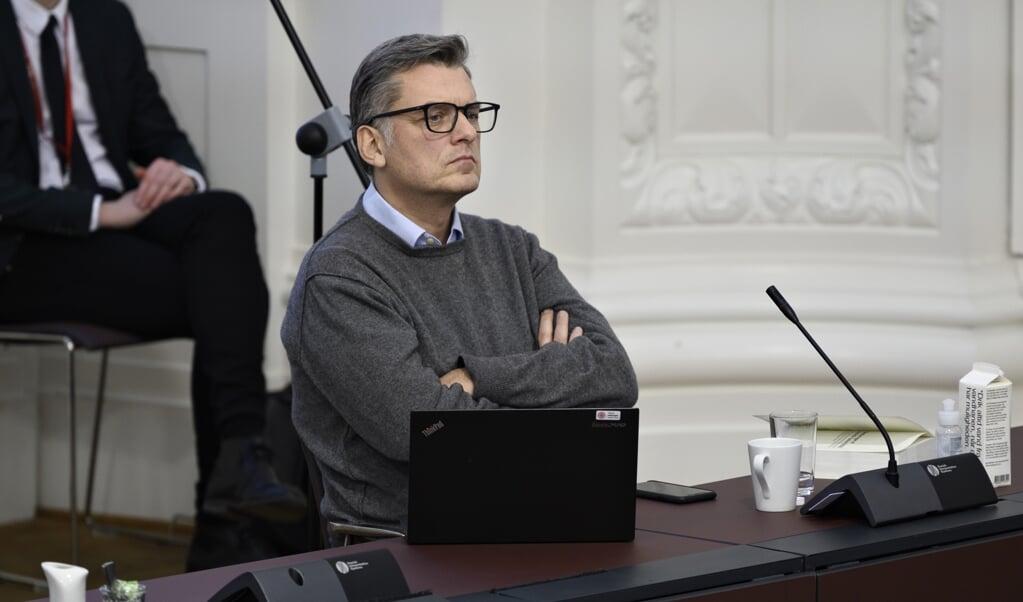 Jan E. Jørgensen (V) siger til Jyllands-Posten, at man ikke kan støtte den danske regerings forslag om tryghedsskabende opholdsforbud. (Arkivfoto)  (Philip Davali/Ritzau Scanpix)