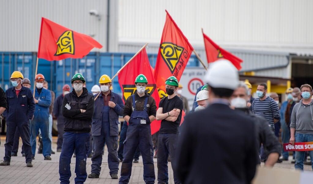 Skibsværftet FSG i Flensborg har brug for flere ordrer.    (Tim Riediger)