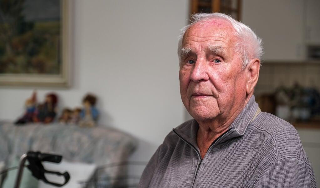 I 30 år var Willy Johannsen pedel på Duborg-Skolen, og selv om han gik på pension tilbage i 1992, er han på ingen måde glemt.  (Sebastian Iwersen)