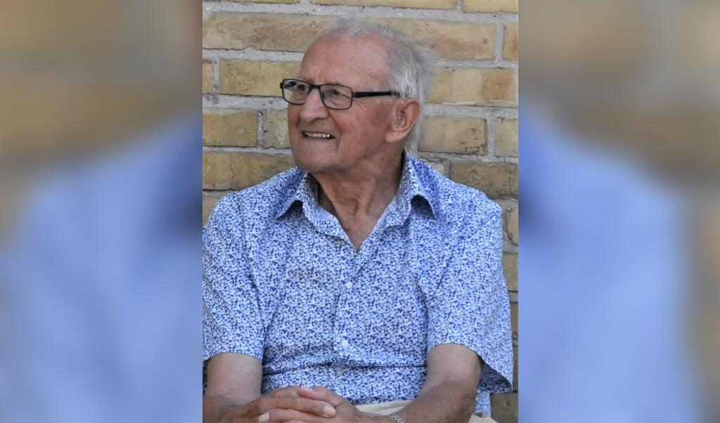 Helge Posselt blev 98 år.   (Privatfoto)