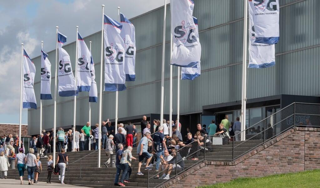 In dee Flens-Arena wird wohl kein EM-Spiel stattfinden.  ( Tim Riediger )