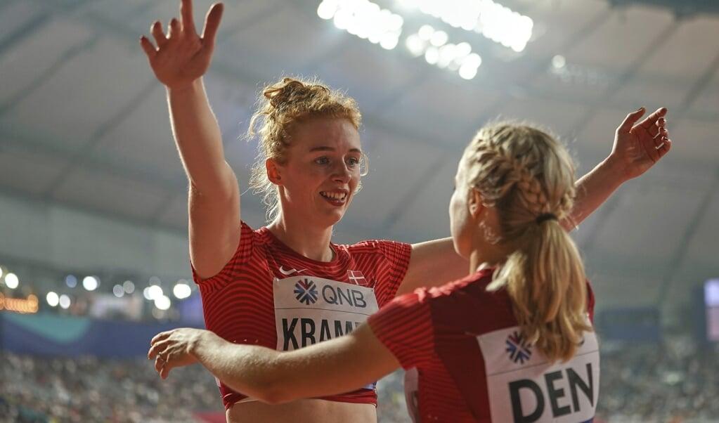 Mathilde U. Kramer er Danmarks næsthurtigste kvinde over 100 m nogensinde.  (Arkivfoto)