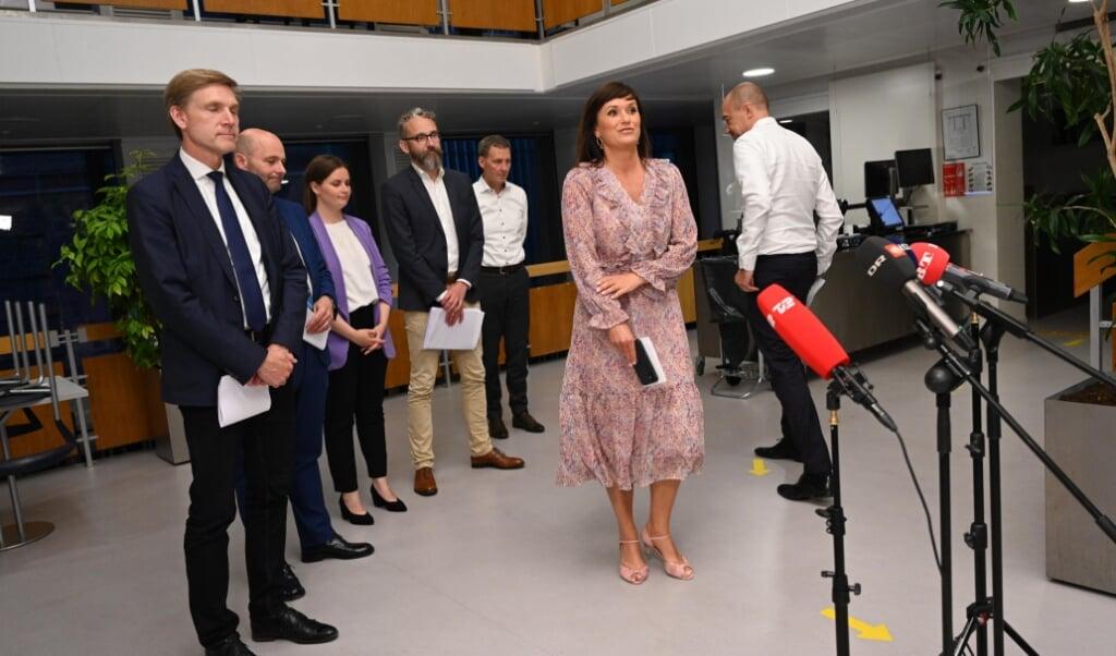 Der er meget mere frihed på vej til danskerne, efter at et flertal af Folketingets partier i nat blev enige om en ny genåbningsaftale.   (Philip Davali/Ritzau Scanpix)