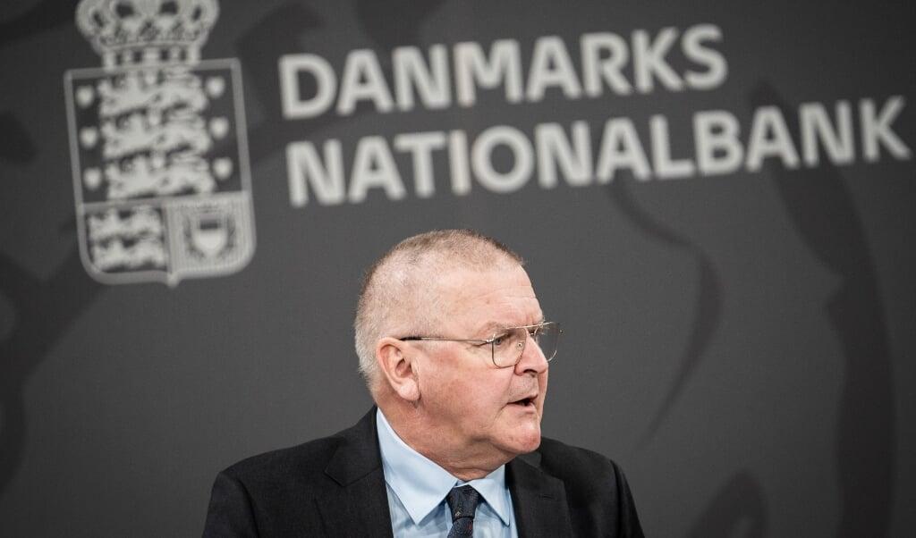 Nationalbankdirektør Lars Rohde ser lyst på vækstudsigterne for dansk økonomi. (Arkivfoto)  (Emil Helms/Ritzau Scanpix)
