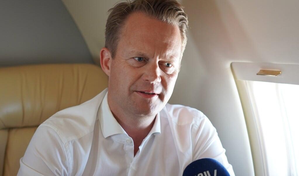 Danmarks udenrigsminister Jeppe Kofod (S) er tirsdag og onsdag på besøg i Marokko, hvor Danmarks regering vil føre dialog om modtagecenter og hjælp til at stoppe irregulær migration.  ( Victor Boysen/Udenrigsministeriet)