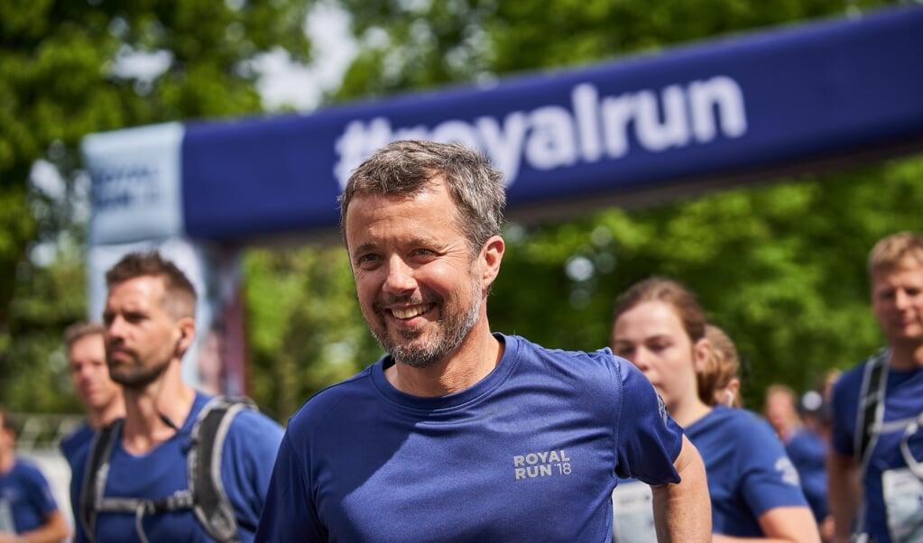 Kronprins Frederik er til stede ved Royal Run i Sønderborg. Deltagerne kan løbe en, fem eller ti kilometer. Løbet finder sted i Sønderborg-området.   (Jan Kejser)