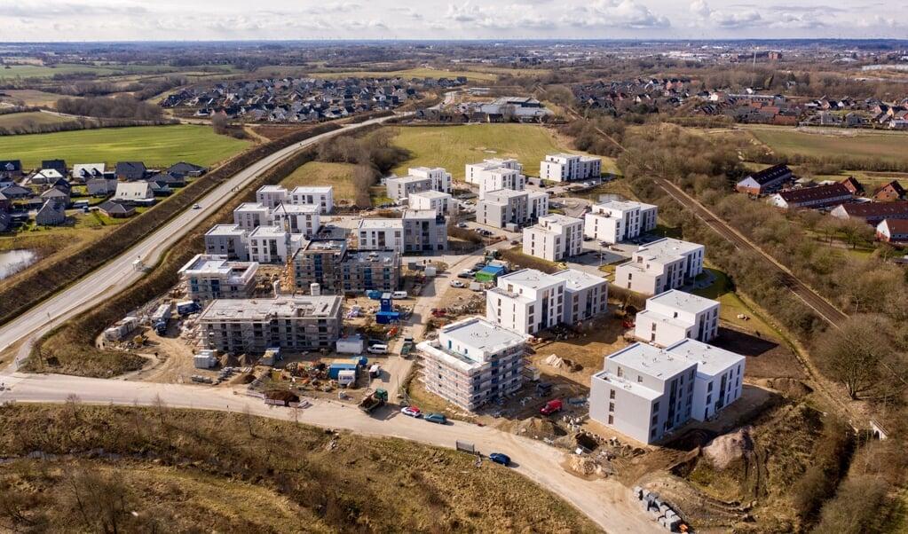 Når SBVs boligprojekt Wohnpark Tarup står klar ved årets udgang, har 286 lejligheder fået nye lejere.  ( Marcus Dewanger/SBV)