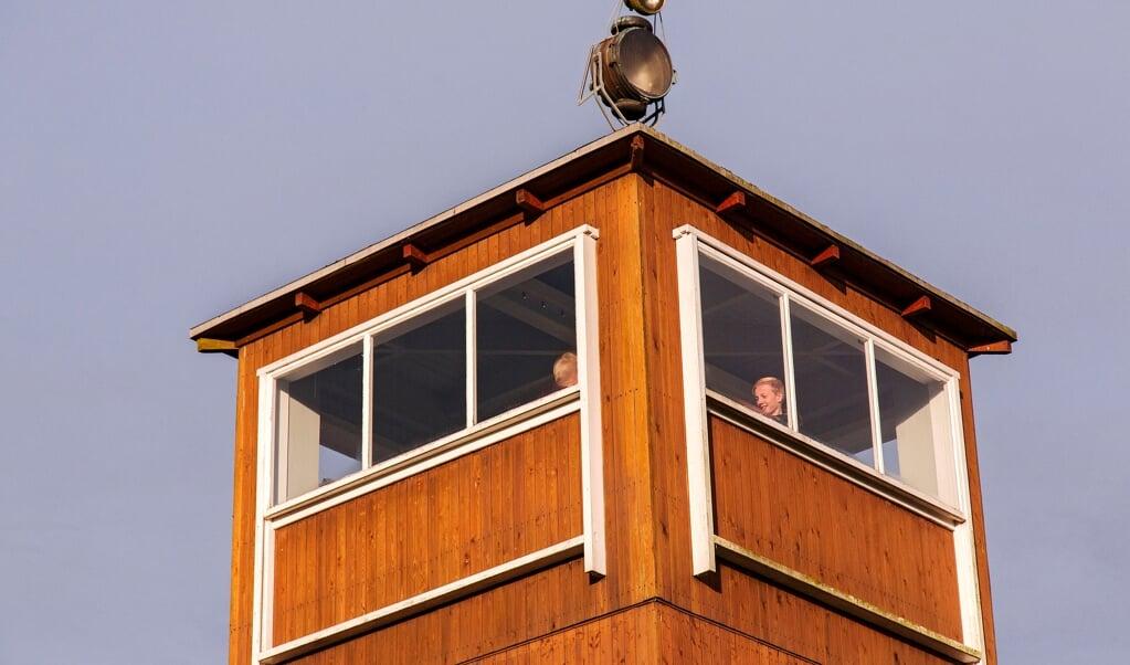 Vagttårnet i Frøslevlejren.   (Lars Salomonsen)