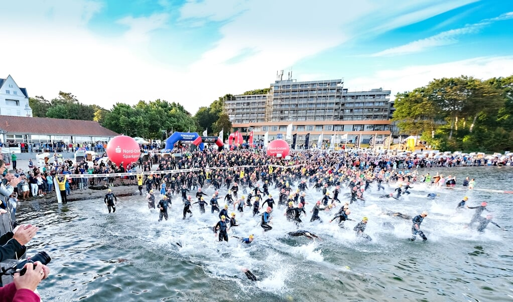 Neben dem Sieg beim OstseeMan wird in Glücksburg auch um die Deutsche Meisterschaft auf der Langdistanz gekämpft.  ( Sven Geissler)