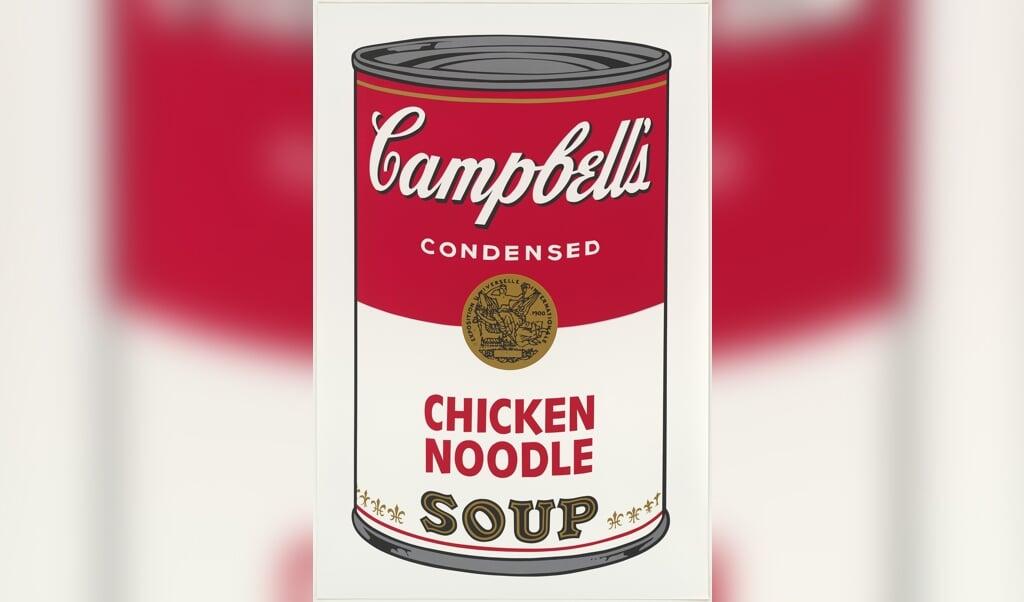 Andy Warhol: Campbell's Soup I, blad nummer ét (1968).   (Hamburger Kunsthalle)