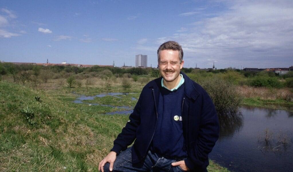 David Rehling er død onsdag i en alder af 72 år, skriver Information. Her ses han i 1996. Arkivfoto:  (Poul Ainow, Ritzau Scanpix)