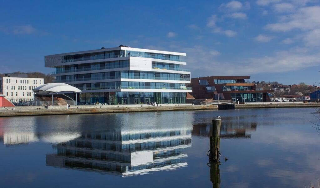 I juni er der mulighed for at komme på guidet rundvisning på Rådhuset i Haderslev.   (Haderslev Kommune)